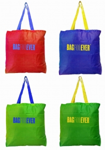 Small Shopping Bags (Pack of 4) Capacity Of 25 Kg  6 Months Warranty Eco-Friendly & Light Weight