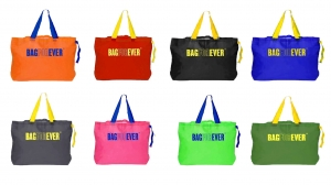 Bagforever Pack Of 8 (Assorted Colors) Multiutility Shopping Bag 6 Months Warranty