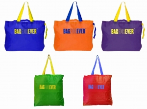 Pack of 5 (6 months warranty) Multicolor Fashion Shopping Bags