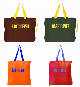 Pack of 4 (6 months warranty) Shopping Bags For Supermarkets