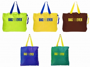 Pack of 5 (6 months warranty) Multiuse Ecofriendly Reusable Grocery Bags