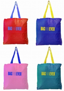 Shoulder Strap Small Shopping Bags (Pack of 4)  6 Months Warranty Light Weight Grocery Shopping Bag