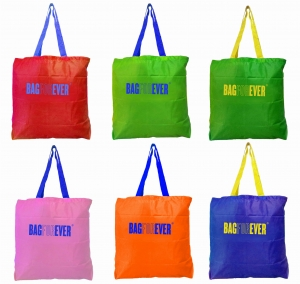 Foldable Small Shopping Bags (Pack Of 6) (Assorted Colors)  6 Months Warranty