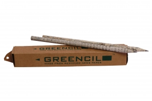 Environment Friendly Newspaper Pencils Kids