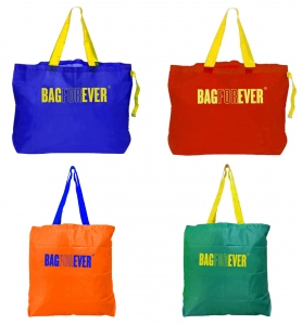 Pack of 4 (6 months warranty) Heavy Carry Strong Shopping Bags