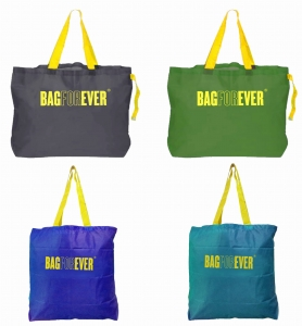 Pack of 4 (6 months warranty) Shopping Bags For Household Carry